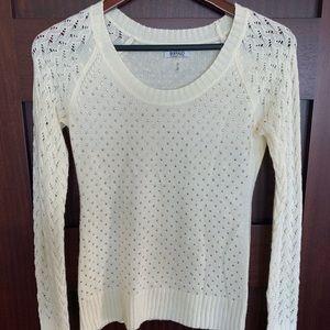 Cream Sweater - Buffalo David Bitton